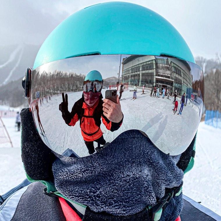 Ruben en Yabuli Ski Resort